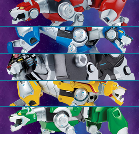 VOLTRON BLACK LION FIGURE