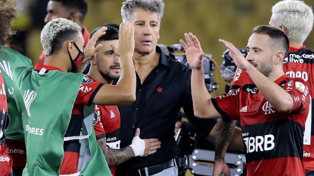 Renato Gaúcho não economiza elogios ao Flamengo: 'Provou a força dele'