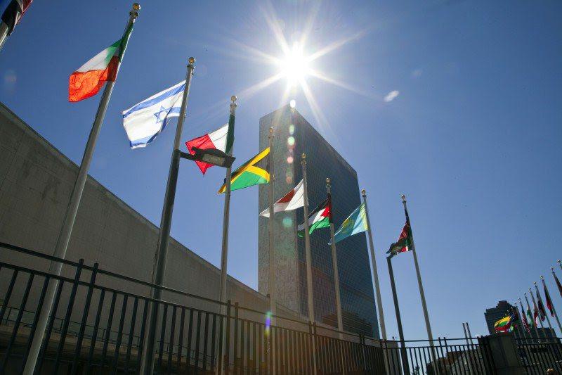 位於紐約市的的聯合國總部大樓。 圖/維基共享:Cancillería Ecuad...