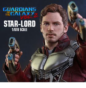GUARDIANS OF THE GALAXY VOL. 2 1/6 SCALE STAR-LORD FIGURE