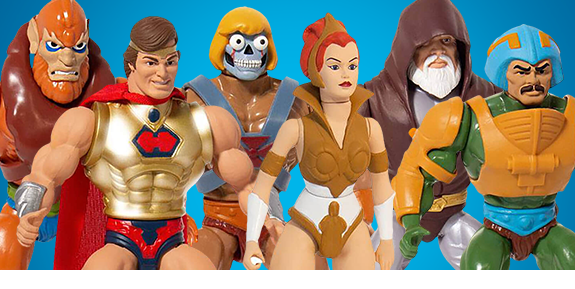 SUPER7 MASTERS OF THE UNIVERSE VINTAGE FIGURES