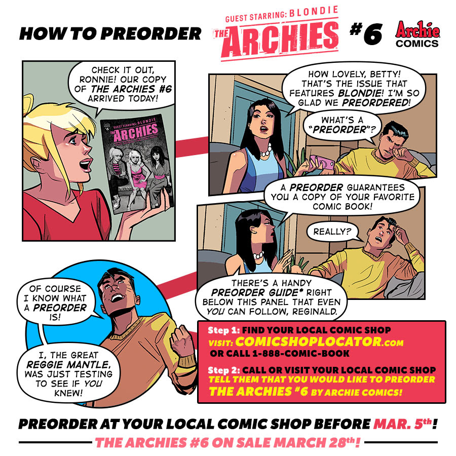 Preorder THE ARCHIES #6