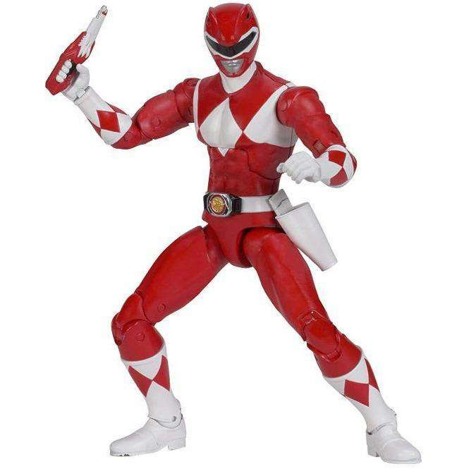 "Image of Mighty Morphin Power Rangers Legacy 6"" Red Ranger - FEBRUARY 2019"