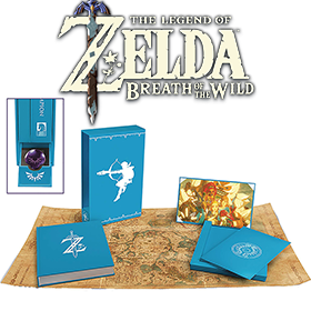 THE LEGEND OF ZELDA: BREATH OF THE WILD CREATING A CHAMPION HARDCOVER