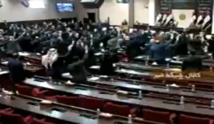 "Iraq: MPs scream ""Allahu akbar"" after voting to expel US forces from the country"