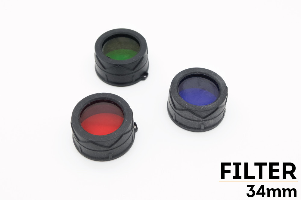 34mm Flashlight Filter Fenix Store
