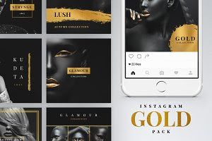 Instagram Gold Pack