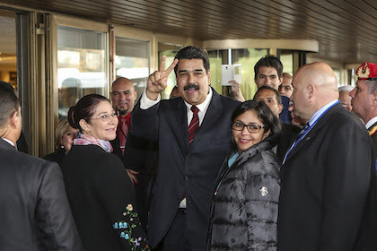 Nicolas Maduro 111215 - The U.S. Wages a Dangerous Campaign in Venezuela Elections