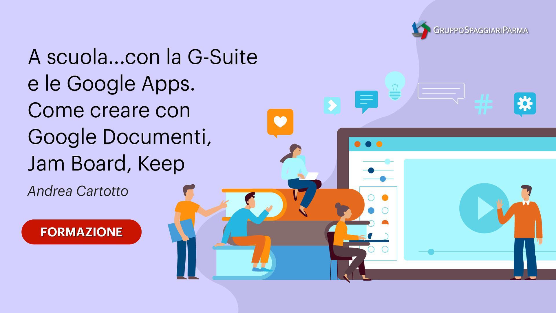 A scuola con la G-Suite e le Google Apps