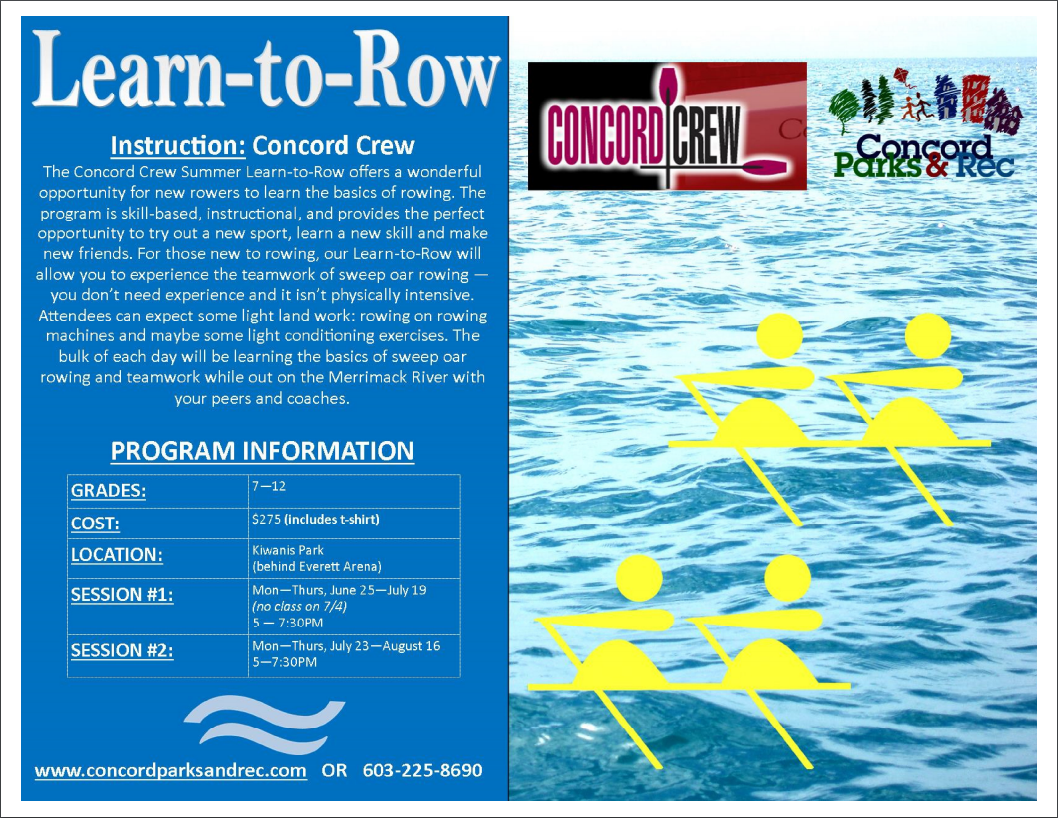 Summer Learn to Row facts