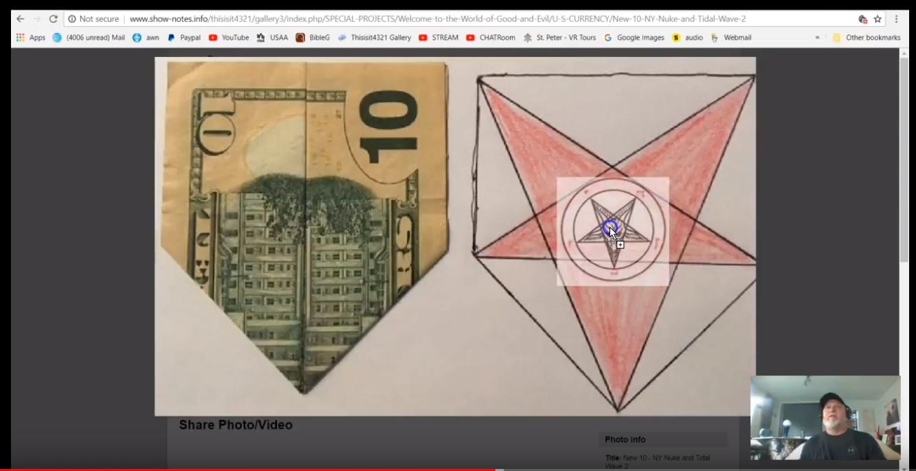 New $50 USD Dollar Bill and New Attack Location