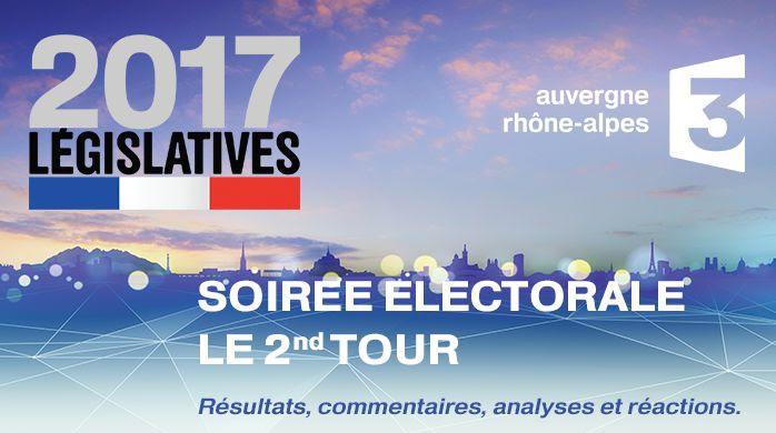 Suivez le second tour des élections législatives sur France 3 Auvergne Rhône-Alpes