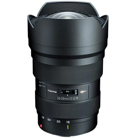 Opera 16-28mm F/2.8 FX Zoom Lens for Canon EOS DSLR Cameras