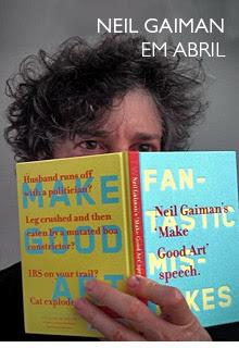 Neil Gaiman em abril