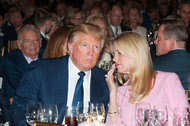 Donald J. Trump and Attorney General Pam Bondi of Florida in March at Mar-a-Lago in Palm Beach.