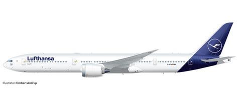 Boeing 777-9 Lufthansa | Is due: Nov/Dec 2019