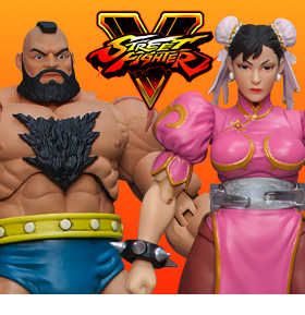 STREET FIGHTER V SPECIAL EDITION 1/12 SCALE FIGURES