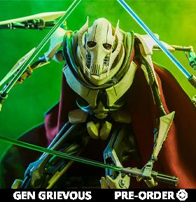 Star Wars Premium Format General Grievous Limited Edition Statue