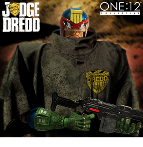 ONE:12 COLLECTIVE CURSED EARTH JUDGE DREDD