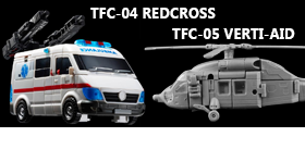 TFC TOYS PROMETHEUS - REDCROSS, VERTI-AID