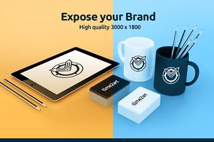 HQ Branding Material MockUp