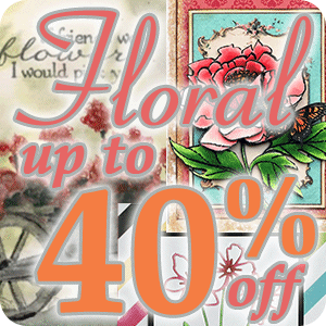 Floral Themed Items Are 15% off or More!