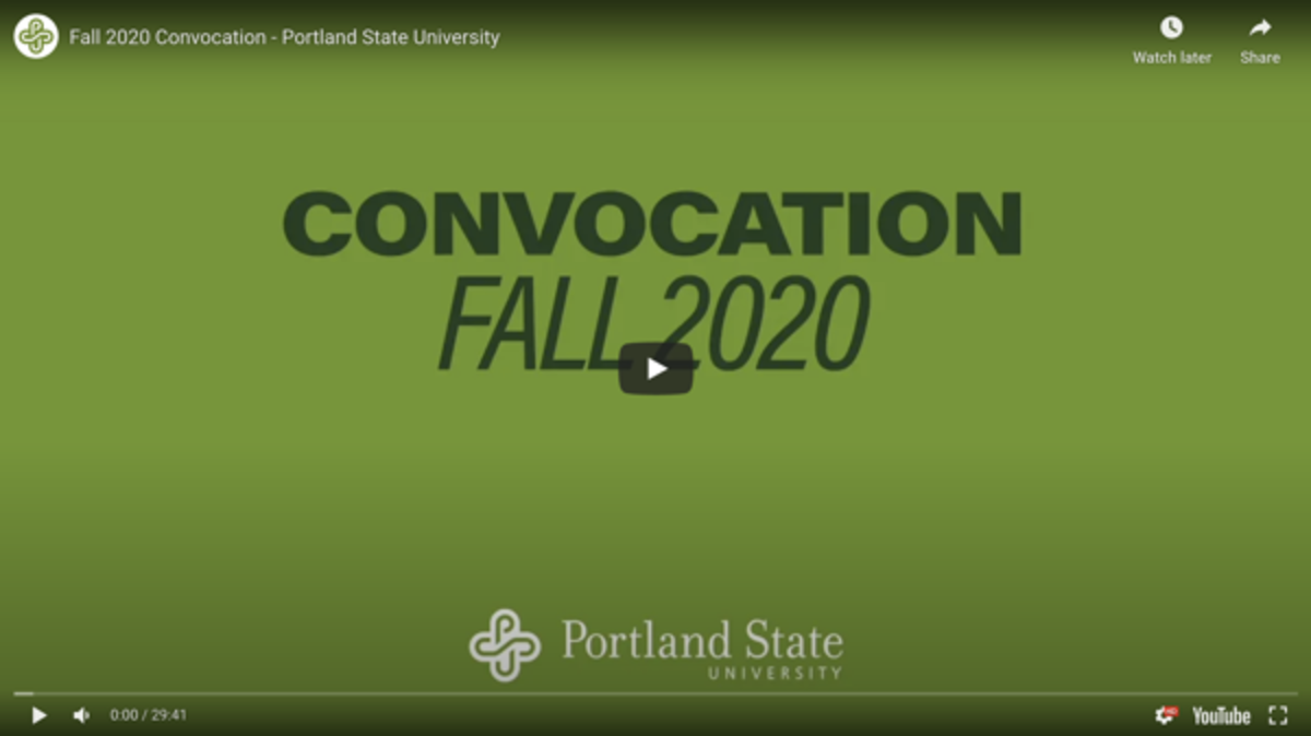 Link to Convocation 2020