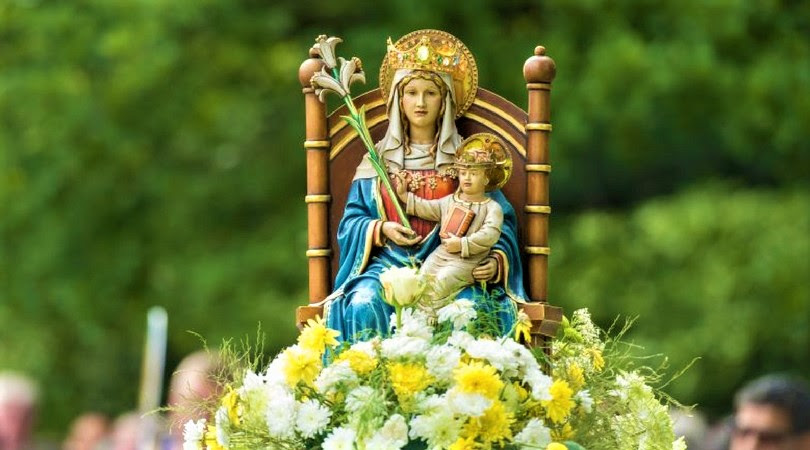Image result for our lady of walsingham statue