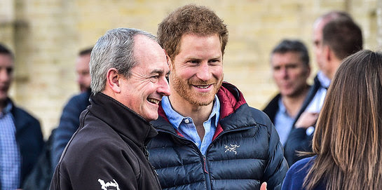 Prince Harry visits Help for Heroes' Hidden Wounds service