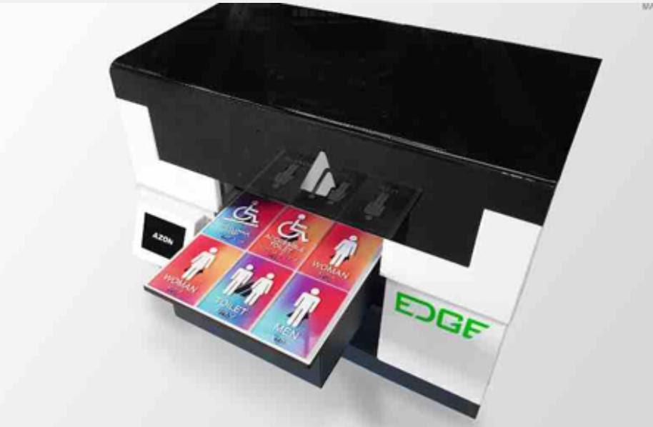 Azon launches small format UV LED printer