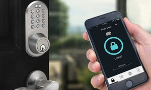 MiLocks Bluetooth Entry Keypad & Deadbolt (Apple / Android Compatible)