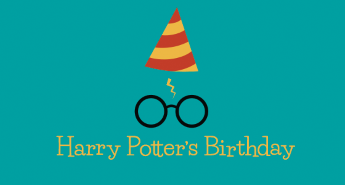 Harry Potter's Birthday banner
