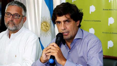 Hernán Lacunza el 3 de marzo de 2017 en Buenos Aires, Argentina, entonces como ministro de Economía de esa provincia.