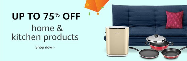 Up to 75% off Home & Kitchen Products