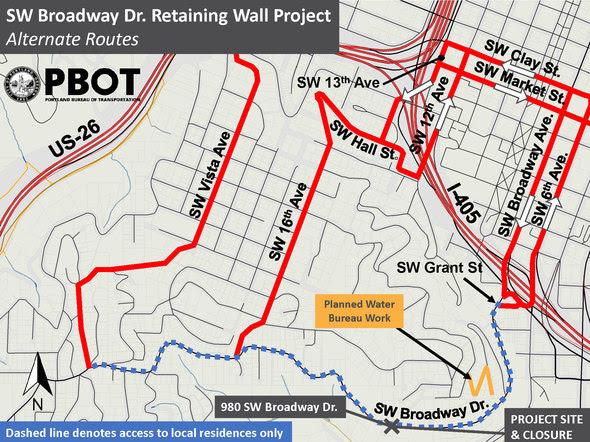 broadway map