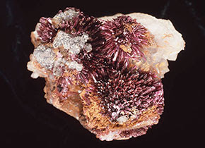An erythrite specimen in the Museum's collection