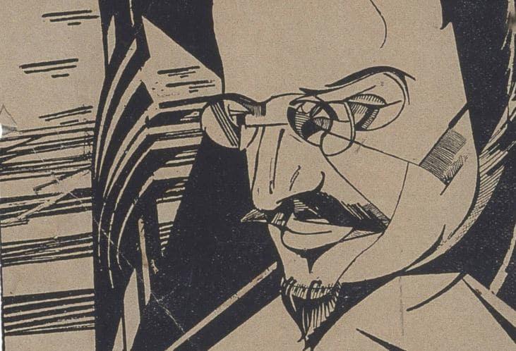 cubist trotsky