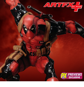 MARVEL NOW SUPER DEADPOOL ARTFX+ STATUE