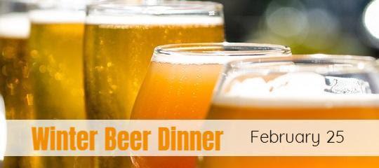 Winter Beer Dinner