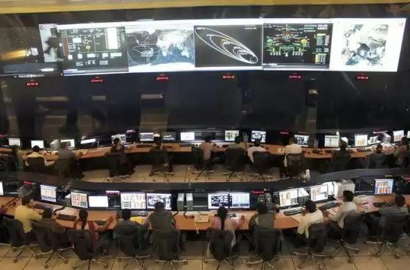 Mars Mission Control Room