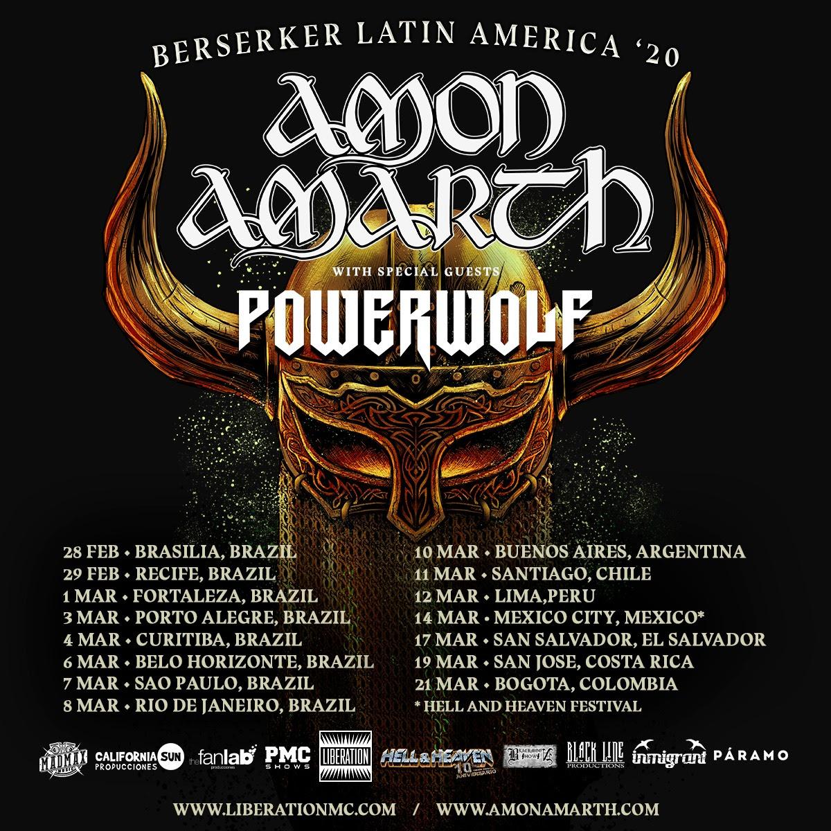 Cartaz da turnê