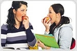 High school students less likely to select milk, fruit for lunch when fruit juice is available