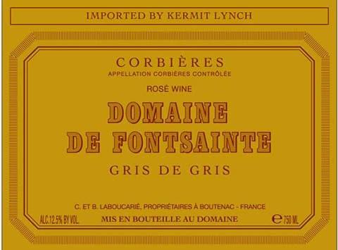 Domaine de Fontsainte Corbieres Gris de Gris 2019 | Wine.com