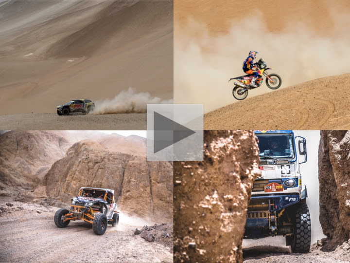 Marathon stage sets up stirring second week at 2019 Dakar Rally