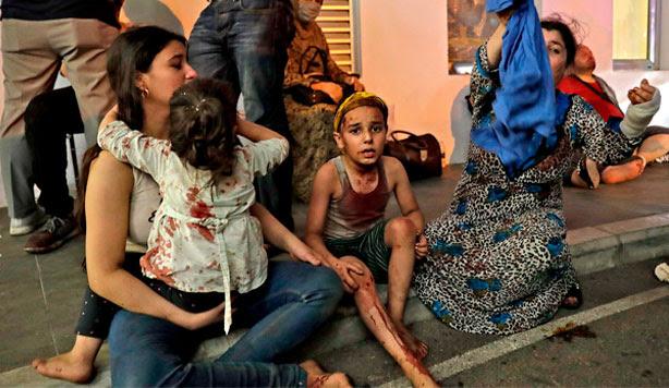 Explosiones Beirut