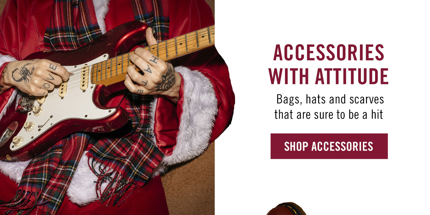 Accessories With Attitude - Bags, hats and scarves that are sure to be a hit - Shop Accessories