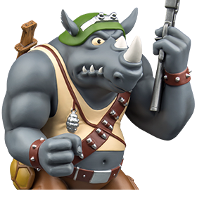 TMNT Rocksteady 12 Inch Statue