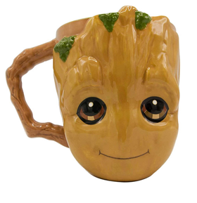 Guardians of the Galaxy Baby Groot Face 3D Mug
