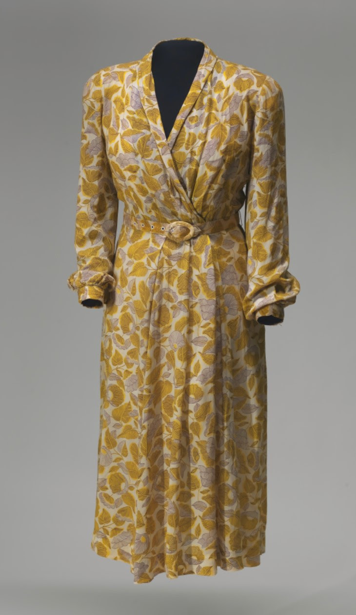 Dress sewn by Rosa Parks
