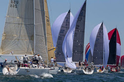J/109s sailing NA Champs at Block Island